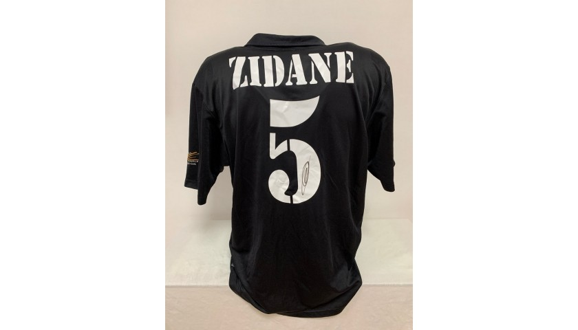 Zidane's Official Real Madrid Signed Shirt, 2002/03