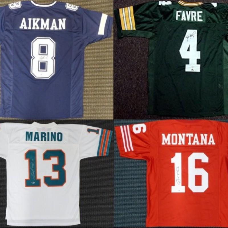 Quarterback Legends Mystery Box: Hand Signed Jersey