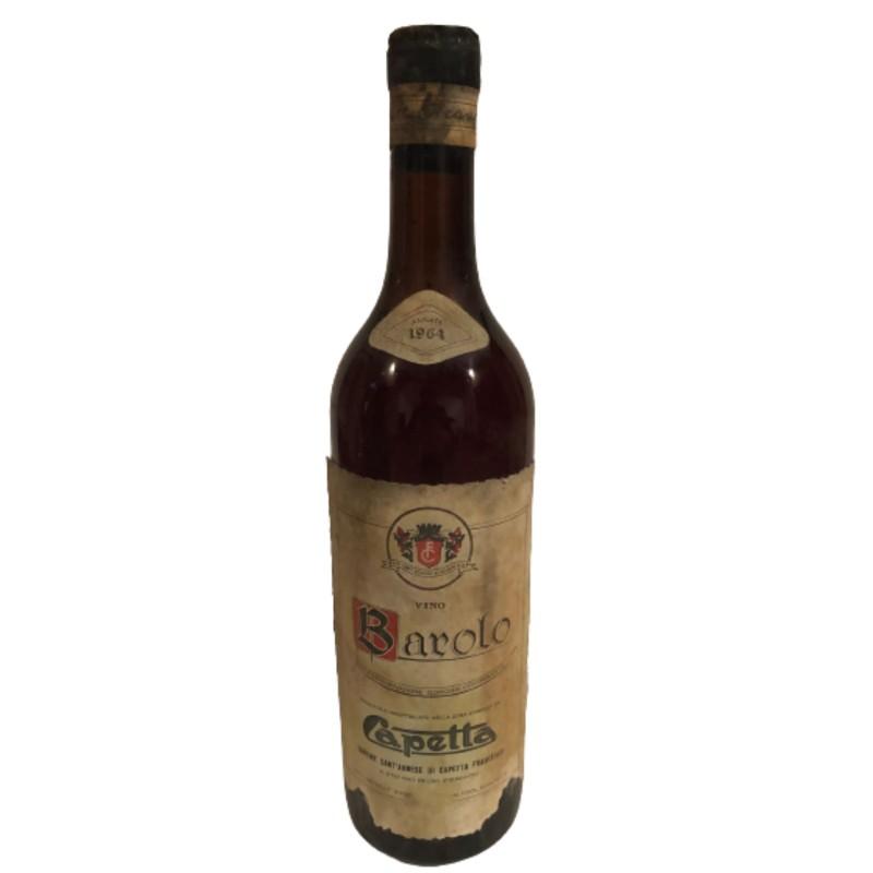 Bottle of Barolo, 1964 - Capetta