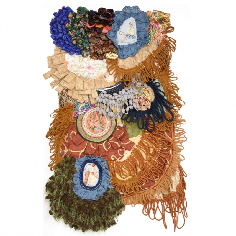 """""""Covid (Quarantena)"""" Tapestry by AdalgisArt"""