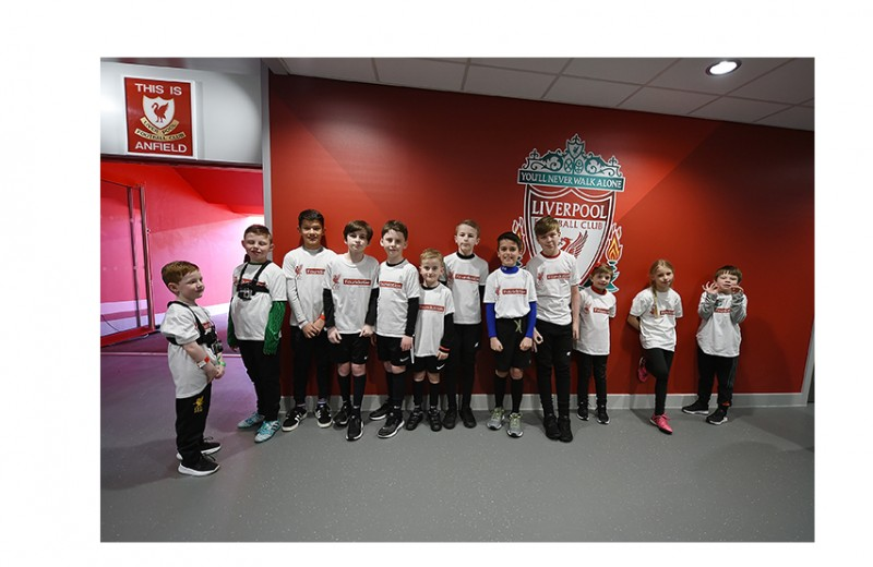 Liverpool Mascot Position for Your Child