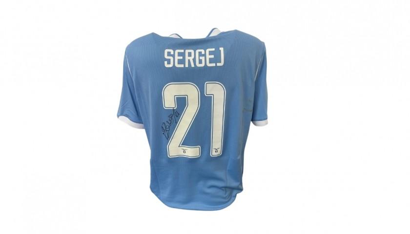 Sergej's Lazio Worn and Signed Match Shirt