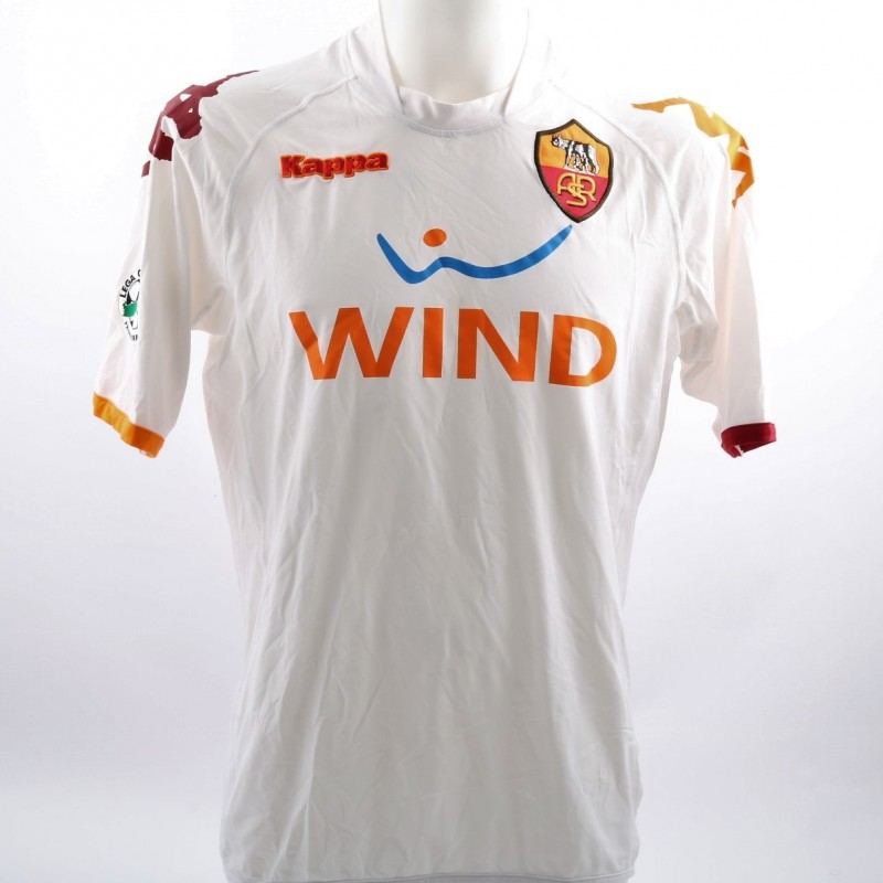 AS Roma Primavera 2008/09 Season Worn Shirt