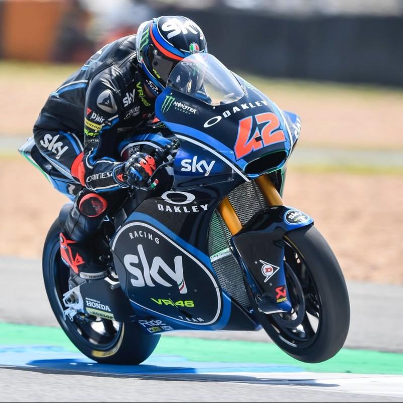 Bagnaia Signed Photograph, Moto2