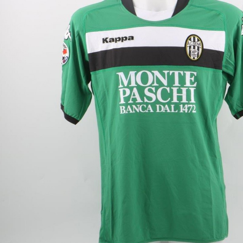 Reginaldo Siena shirt, issued/worn Serie A 2009/2010