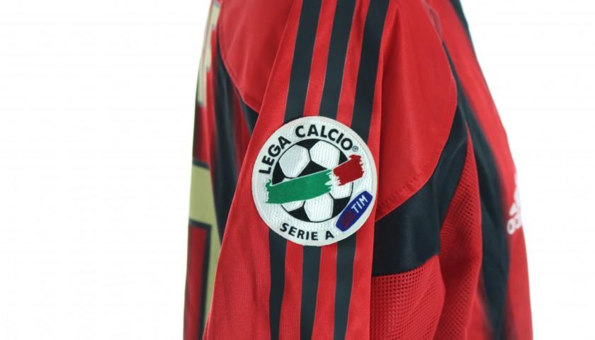 Seedorf's AC Milan Match Shirt, Serie A 2004/05