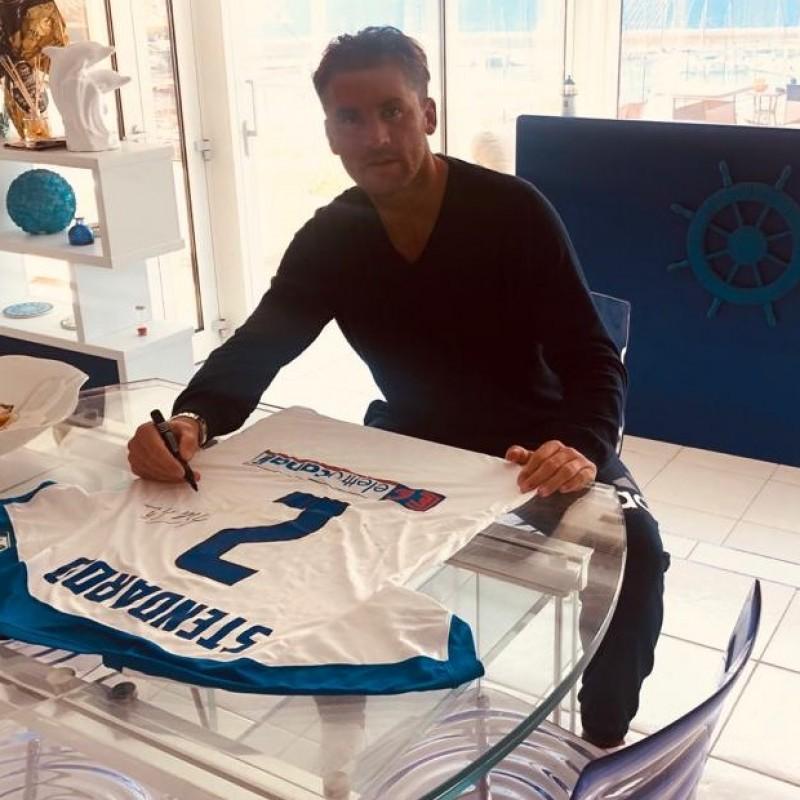 Stendardo's Signed Shirt, Fiorentina-Atalanta 2016