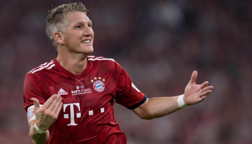 Schweinsteiger's Bayern Monaco Match-Issue Shirt - Last Match 2018