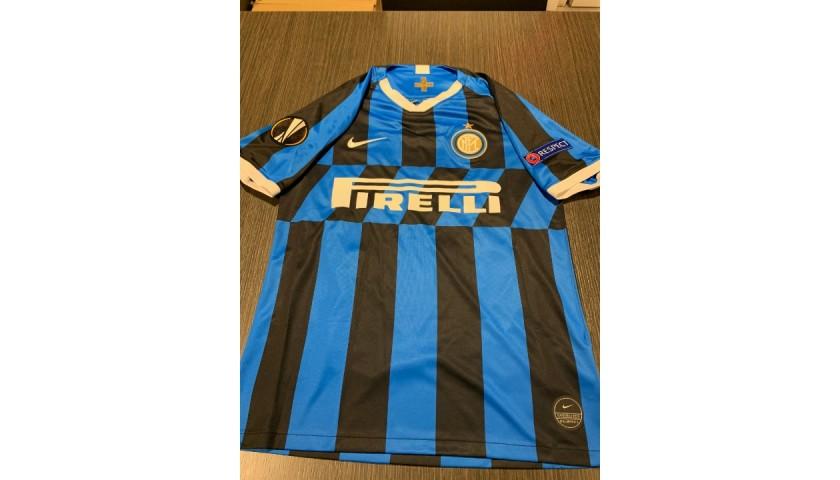 Candreva's Official Inter Signed Shirt, 2019/20