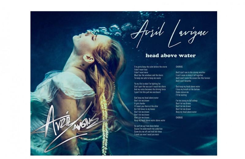 Hand-Signed Lyric Sheet