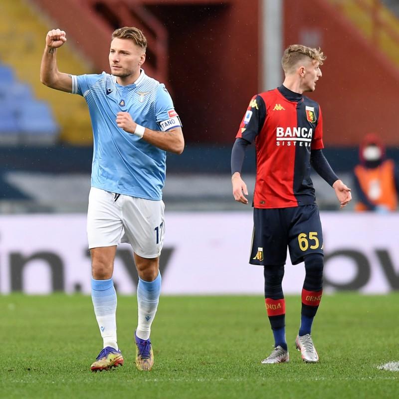 Genoa-Lazio 2021 Match Pennant