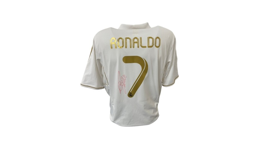 Ronaldo's Official Real Madrid Signed Shirt, 2011/12
