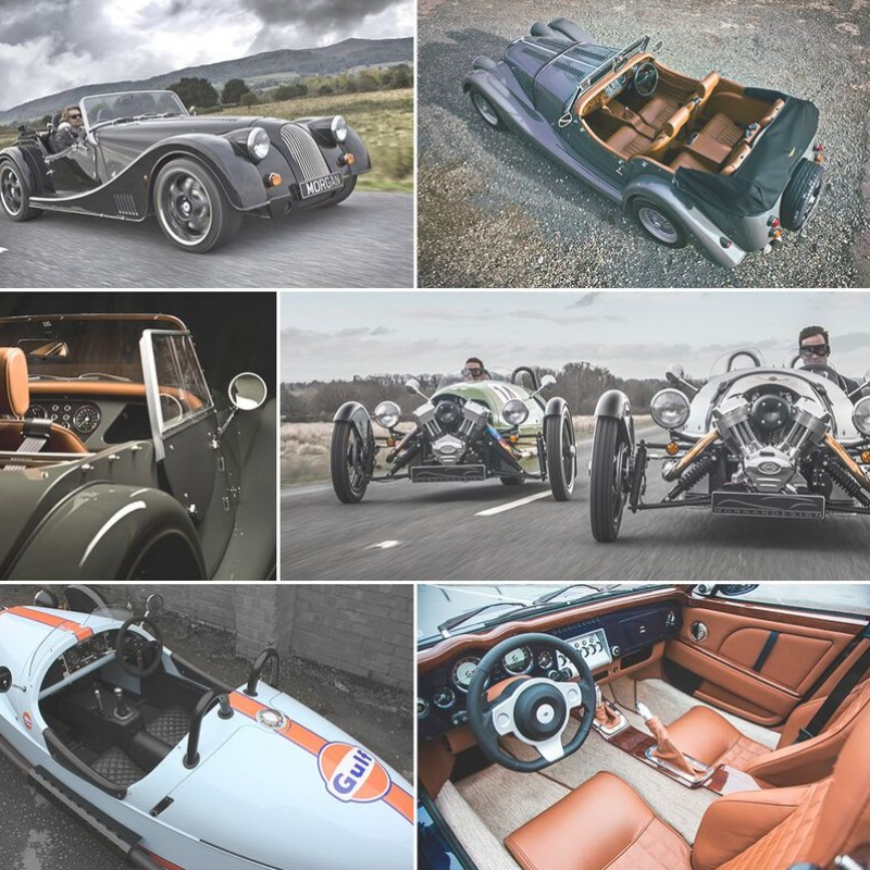 Your choice of Morgan is yours for the weekend with this Ultimate Driving Experience