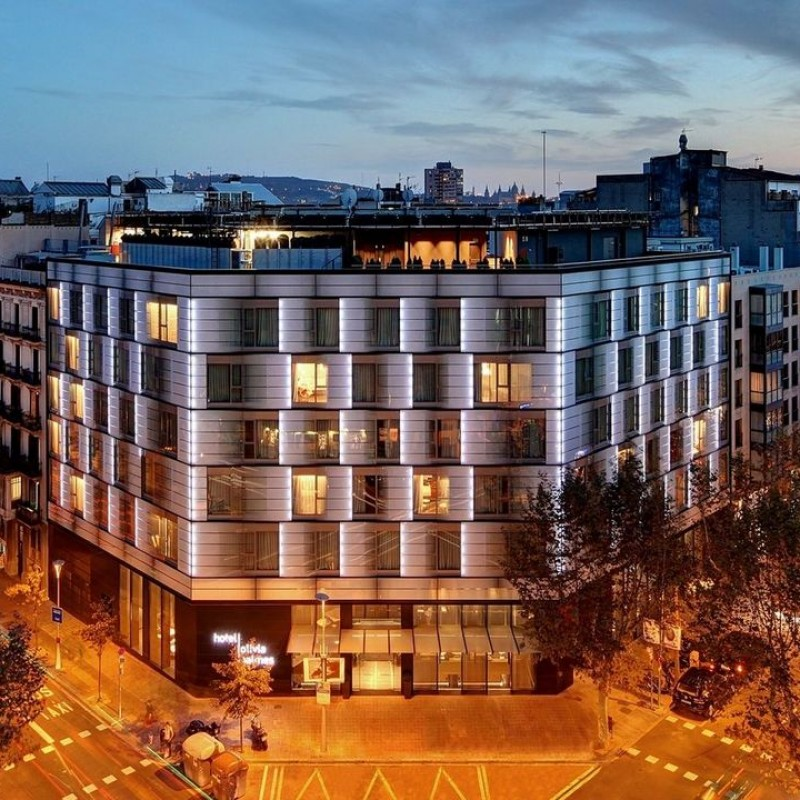 Enjoy a 3-Night Stay at Olivia Balmes Hotel in Barcelona, Plus Airfare