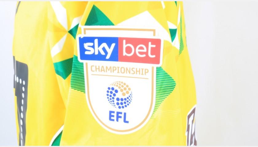 Tettey's Norwich Poppy Match Shirt - Signed