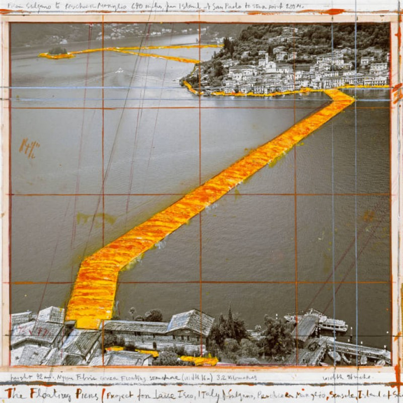 Staff T-Shirt from Christo - The Floating Piers, 2014