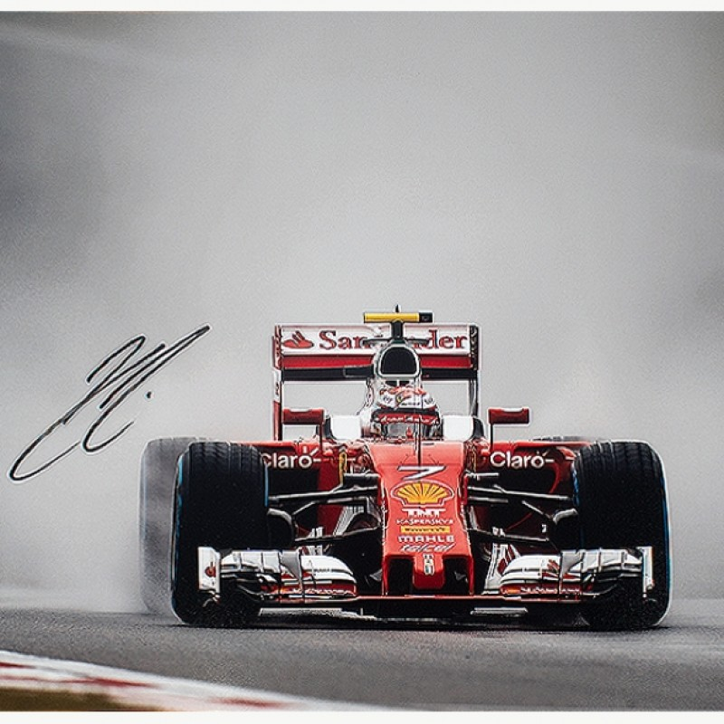 Kimi Raikonen - Signed Photo Formula 1