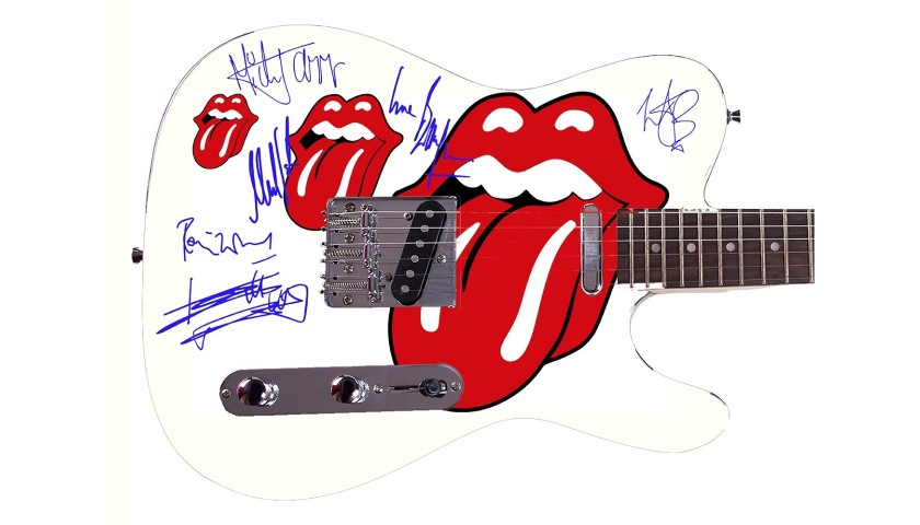 The Rolling Stones Custom Graphics Guitar
