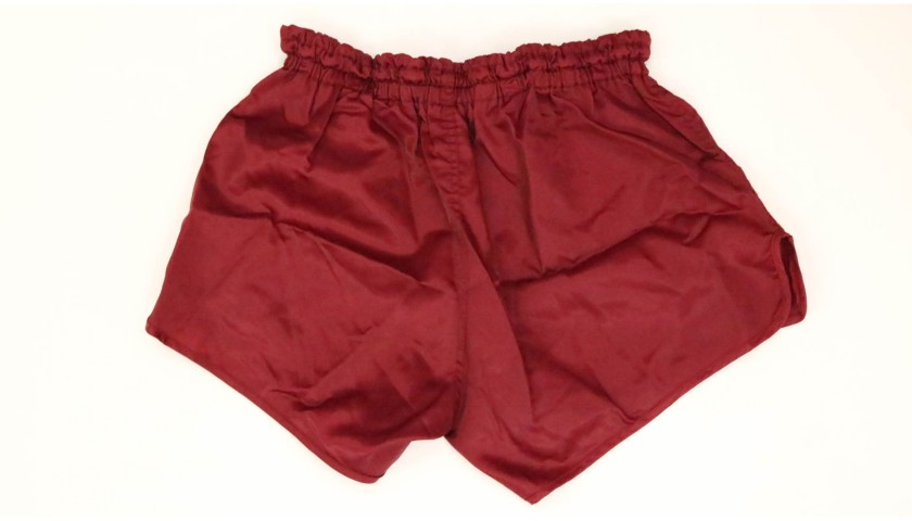 Pruzzo's AS Roma Worn and Signed Shorts, 1982/83
