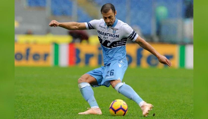 Official Lazio Track Jacket Signed by Radu