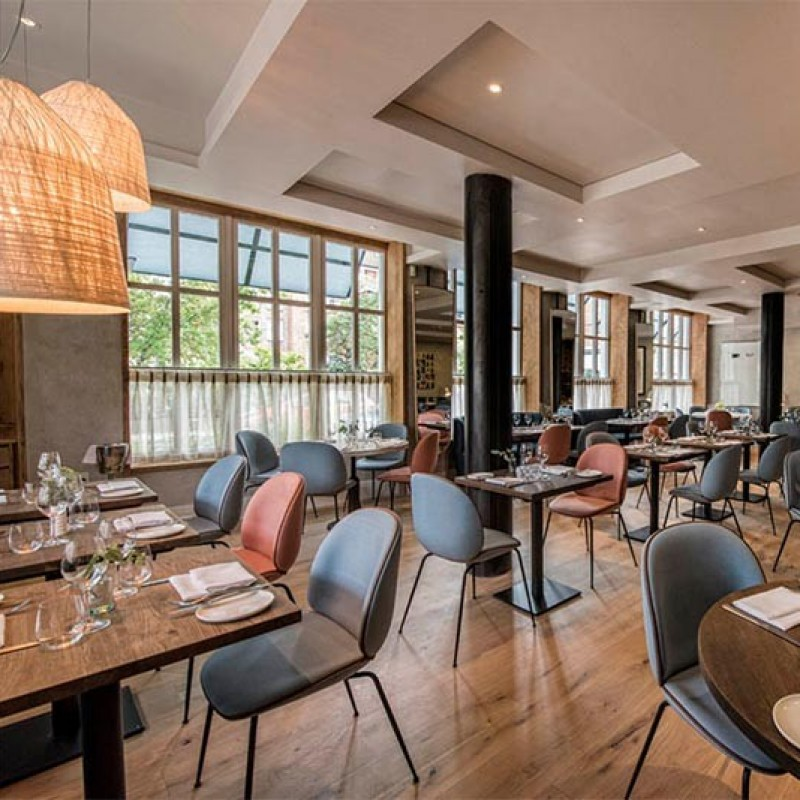 3-Course Lunch with Wine for 2 at Elystan Street Restaurant