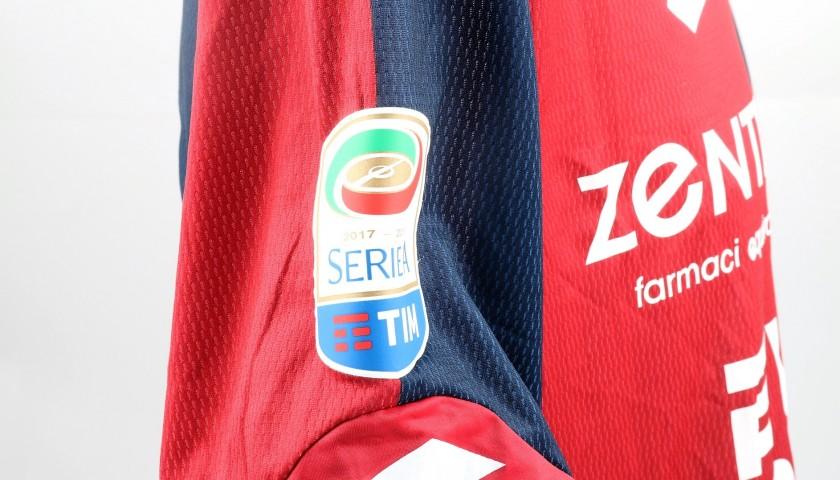 Galabinov's UNWASHED Special Genoa-Sampdoria Bench-Worn Shirt