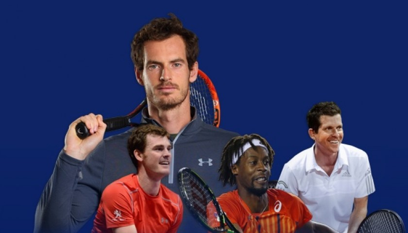 Play Tennis and Enjoy Lunch with Olympic Champion Andy Murray and More