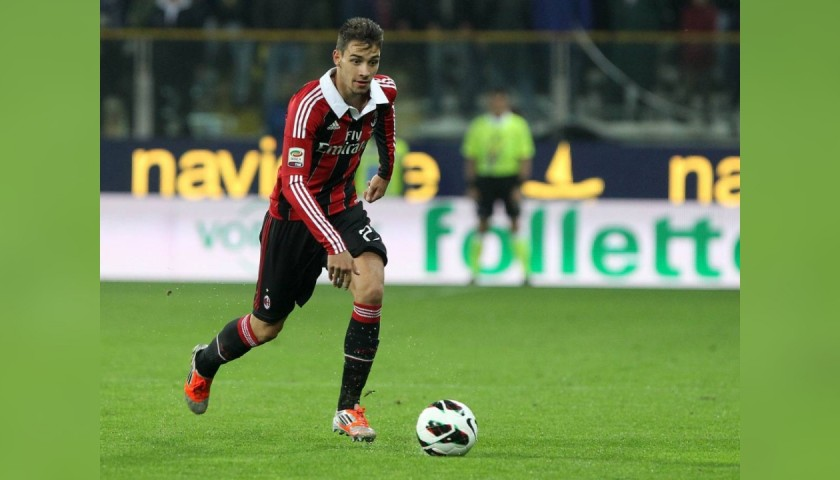 De Sciglio's Official AC Milan Signed Shirt, 2012/13