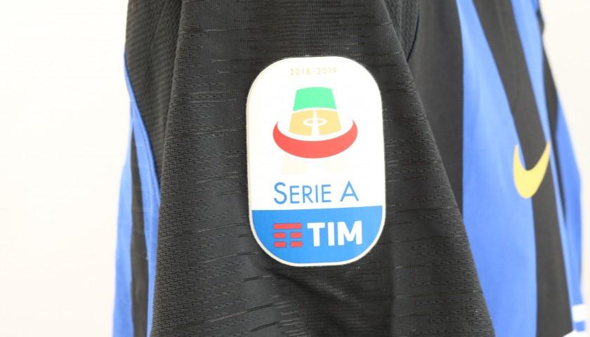 Skriniar's Worn Shirt, Inter-Chievo 2019 - Inter Forever Patch