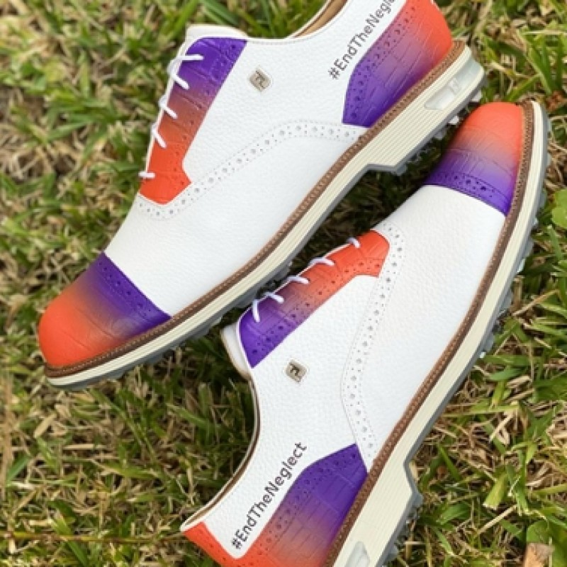 Ian Poulter - World NTD Day 2021 Golf Shoes