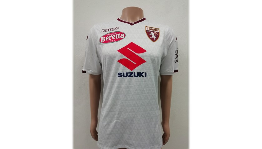 De Silvestri's Torino Match-Issue Signed Shirt, 2018/19