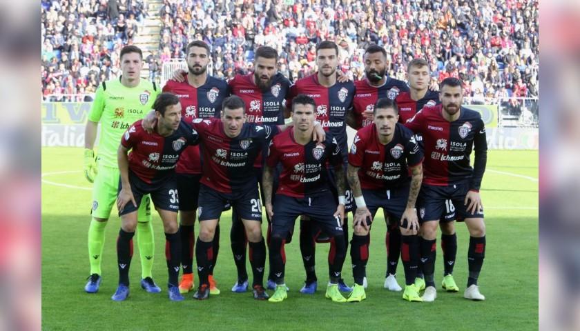 Cagliari Festive Shirt - Worn and Signed by Faragò