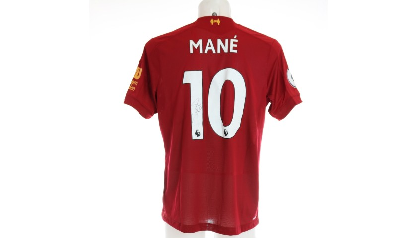 Mané's Issued and Signed Limited Edition 19/20 Liverpool FC Shirt