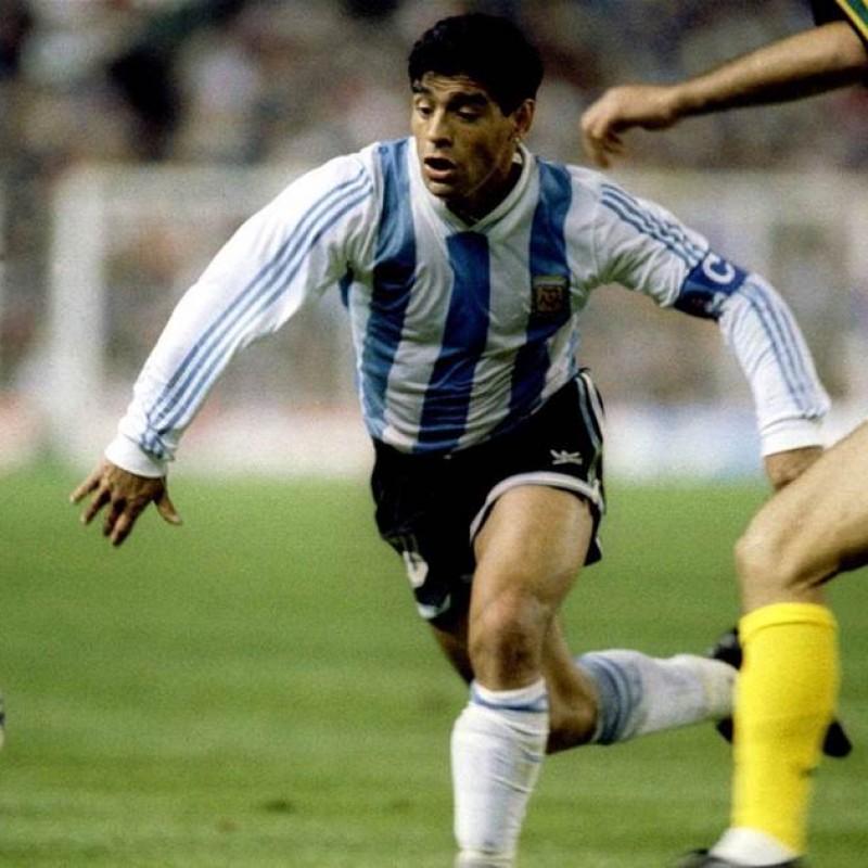 Maradona's Official Argentina Signed Shirt, 1991