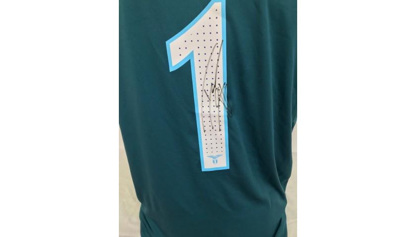 Strakosha's Lazio Signed Match Shirt, 2016/17