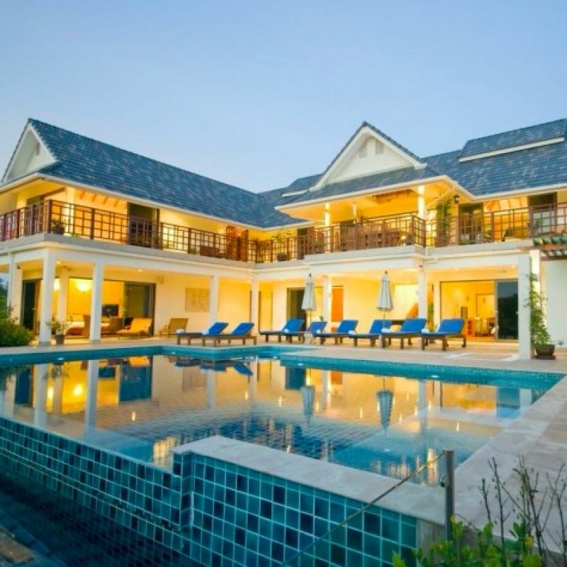Stunning Luxury Private Villa Stay for Seven Nights in Thailand for Twelve