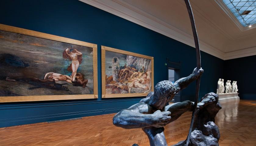 Esclusiva visita guidata a porte chiuse alla galleria for Interno 5 b b roma