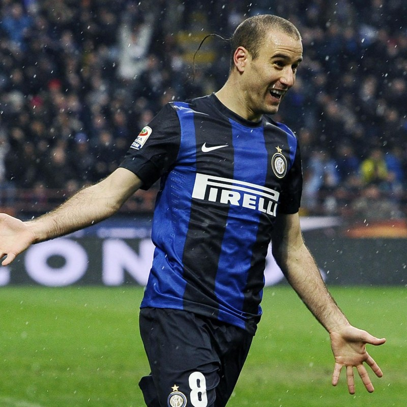 Palacio's Official Inter Signed Shirt, 2012/13