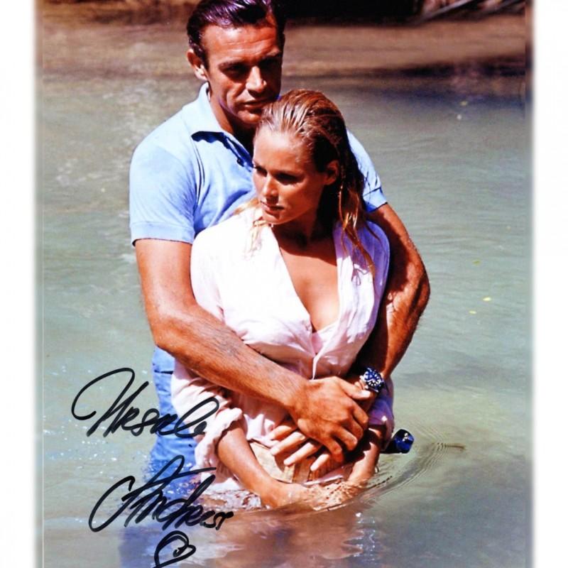 Ursula Andress Signed Photograph - Agent 007