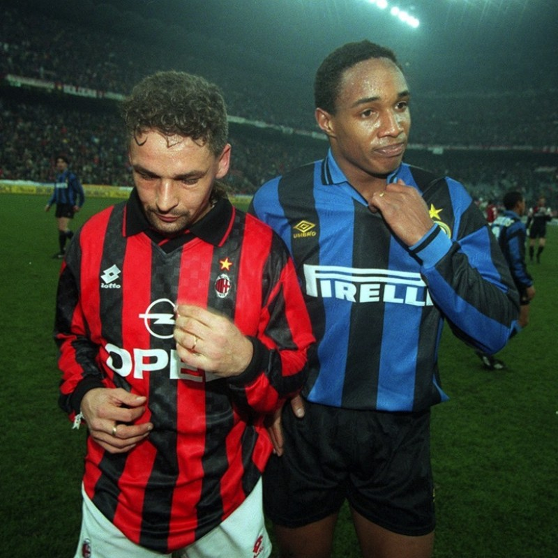 Ince's 1995/96 Match-Issued/Worn Inter Shirt
