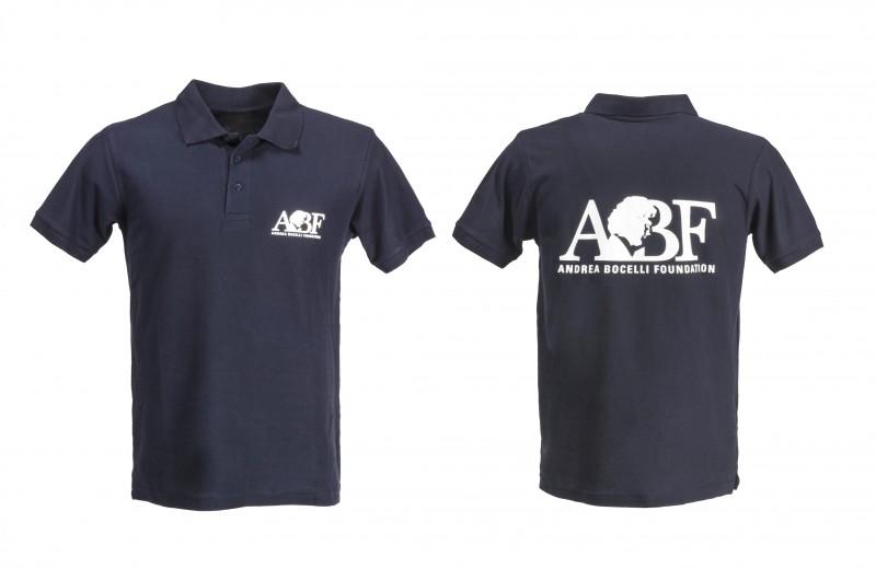 Signed Andrea Bocelli Foundation Polo Shirt