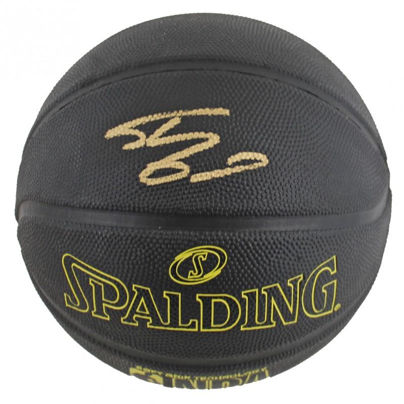 Shaquille O'Neal Signed Phantom Black Basketball