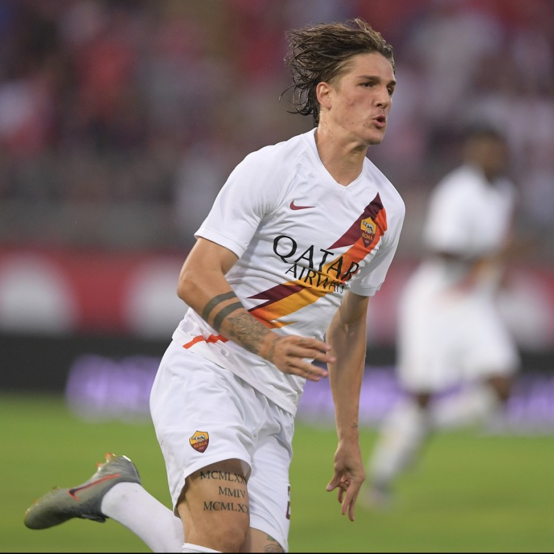 Zaniolo's Official Roma Signed Shirt, 2019/20