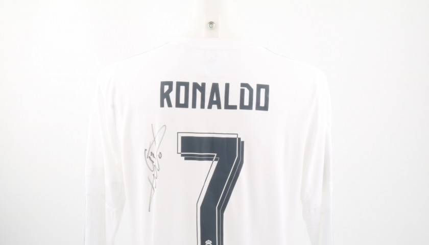 Cristiano Ronaldo Match issued/worn Shirt, Liga 2015/16 - Signed