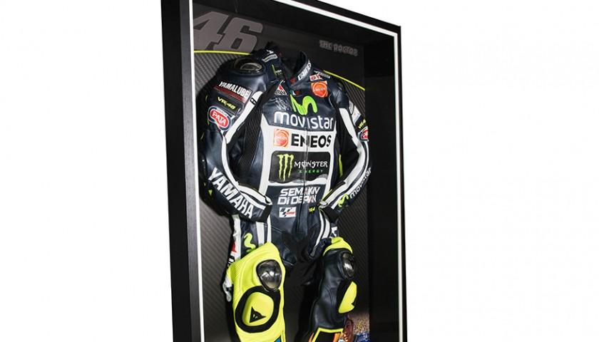 new arrival 4ae0e c8c90 Tuta da corsa Moto GP autografata da Valentino Rossi - Replica -  CharityStars