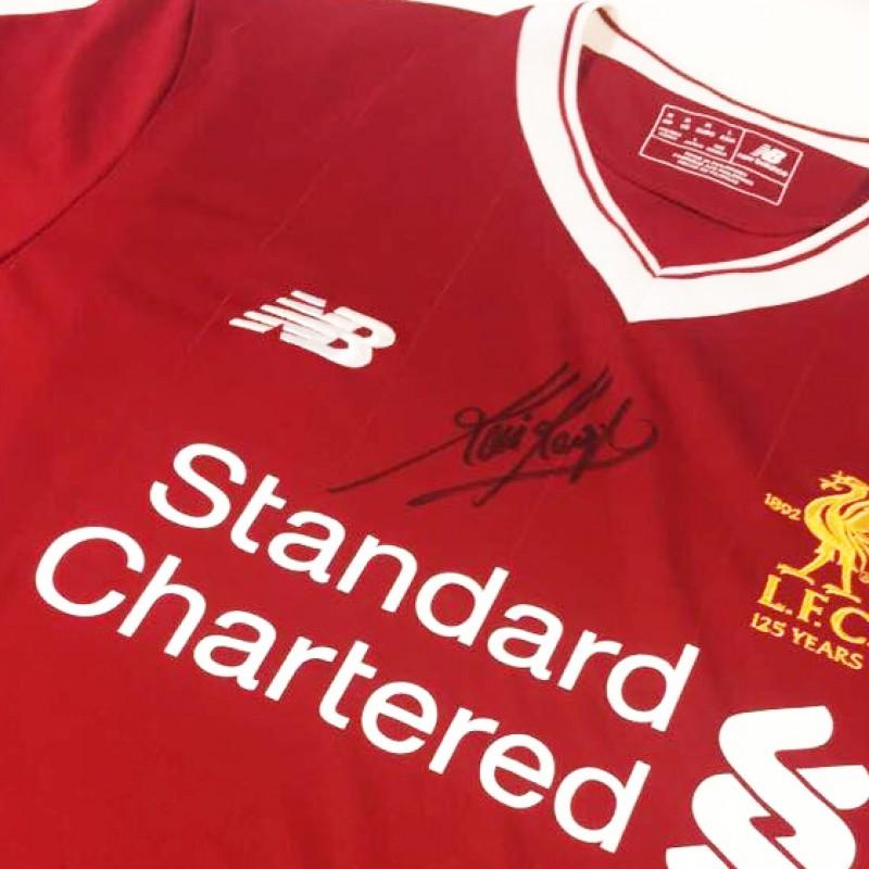 bf8481ef9 LFC Legend Kevin Keegan Signed 125 Home Shirt