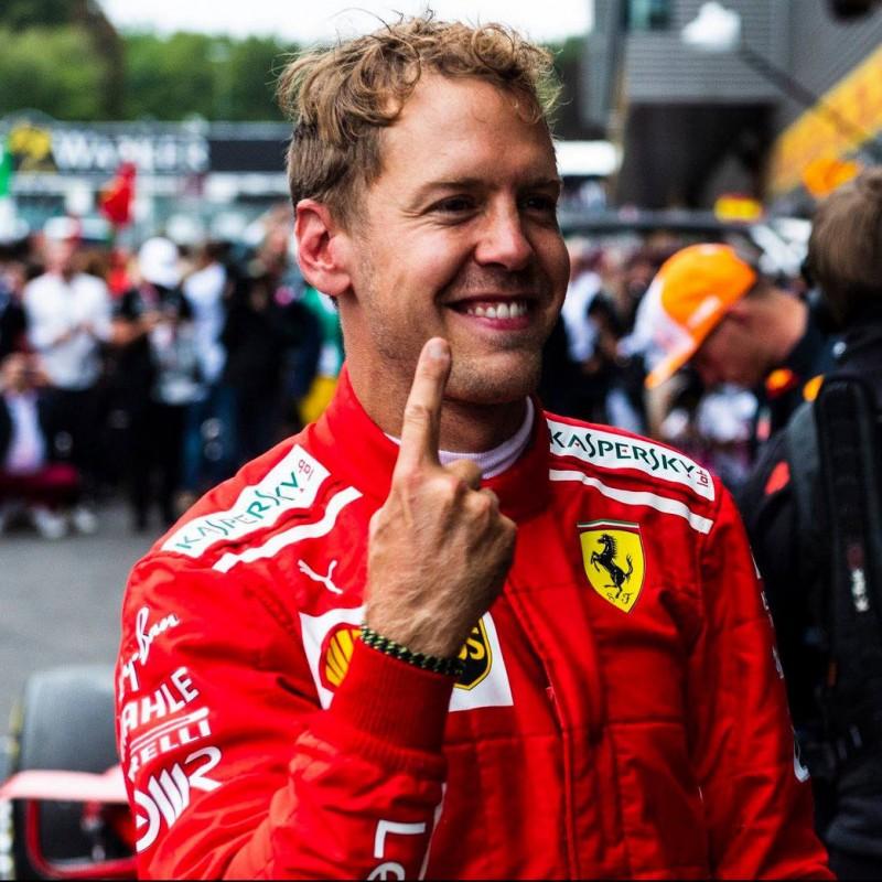 Ferrari Jacket Signed by Sebastian Vettel