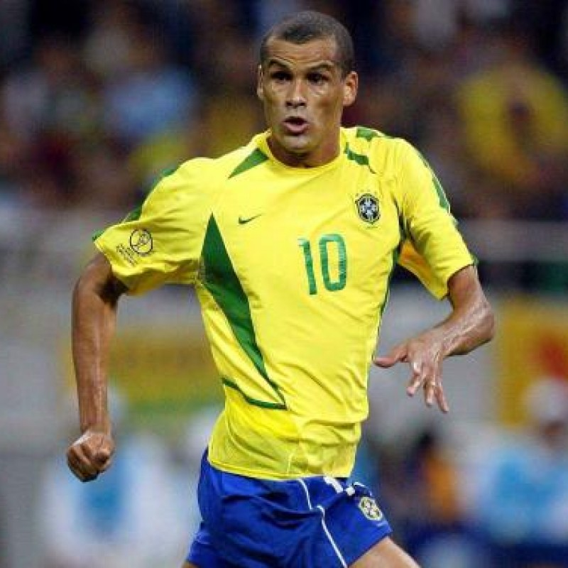 577fb31ac Rivaldo s Official Brazil 2002 Shirt - Signed