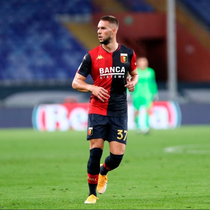 Pjaca's Official Genoa Signed Kit, 2020/21