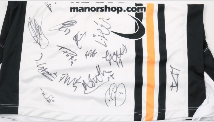 Port Vale Official Poppy Shirt Signed by the Team